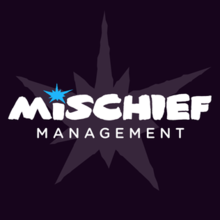 The logo for the company Mischief Management.png