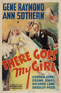 <i>There Goes My Girl</i> 1937 film by Edward Killy, Ben Holmes