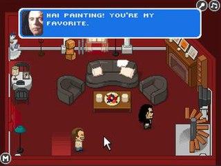 <i>The Room Tribute</i> 2010 flash video game