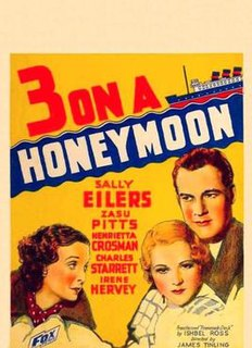<i>Three on a Honeymoon</i> (1934 film) 1934 film directed by James Tinling