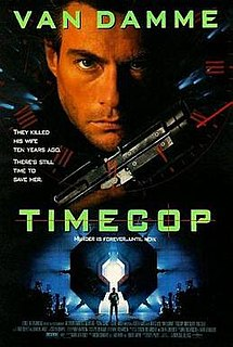 <i>Timecop</i> 1994 film by Peter Hyams