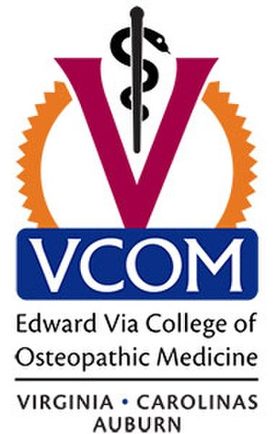 Edward Via College of Osteopathic Medicine - Image: VCOM multi campus logo small