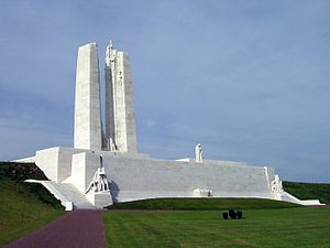 Vimy - Canadian National Vimy Memorial designed by Walter Seymour Allward