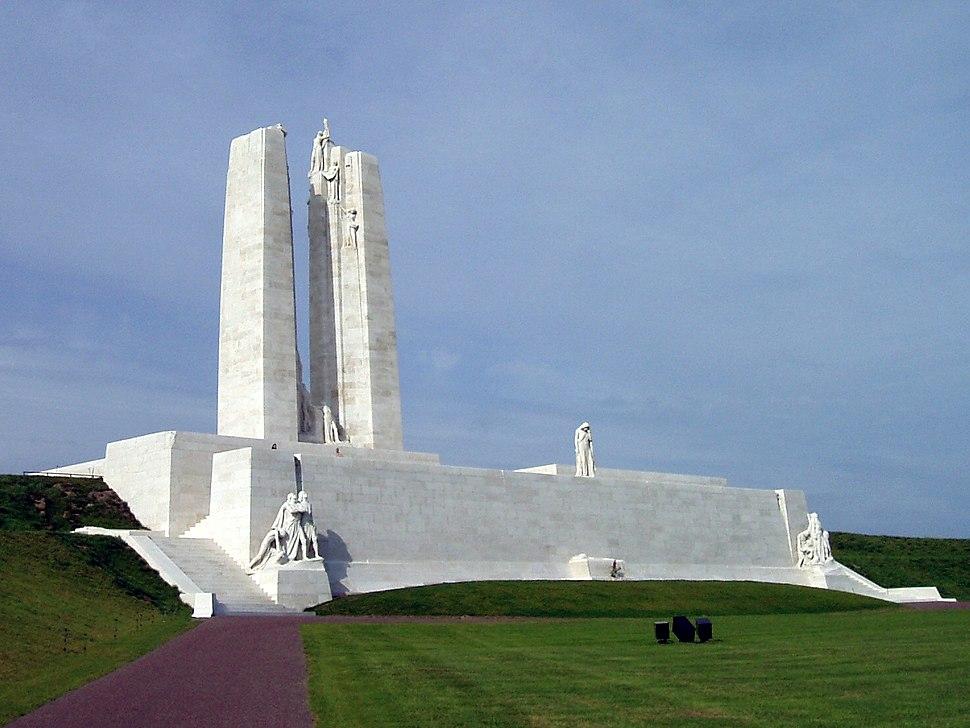 Vimy Memorial (September 2010) cropped