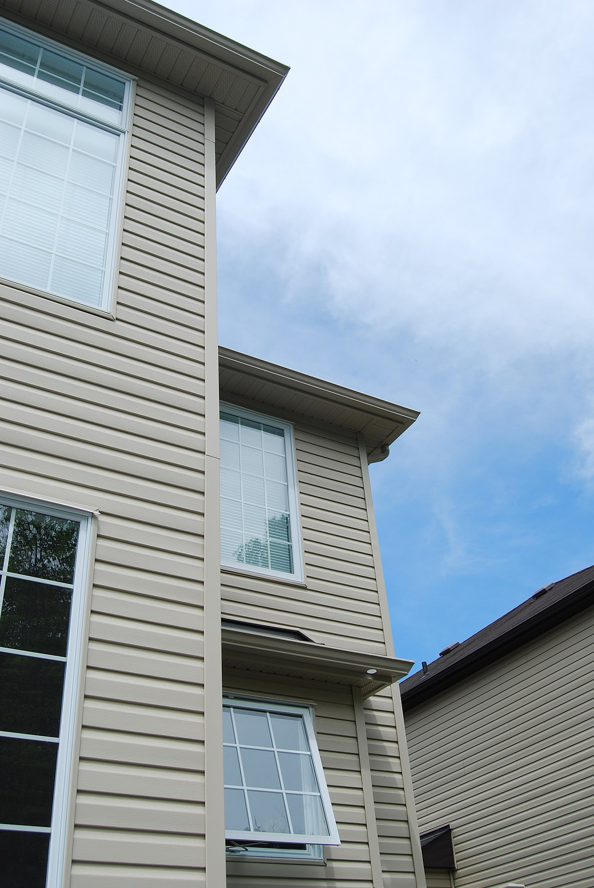 Vinyl siding wikipedia - Exterior materials for buildings ...