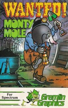 Wanted: Monty Mole