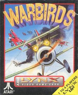 <i>Warbirds</i> (video game) 1991 video game