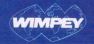 George Wimpey - Wimpey logo in use in the 1970s and 1980s