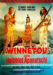 <i>Winnetou and the Crossbreed</i> 1966 film by Harald Philipp