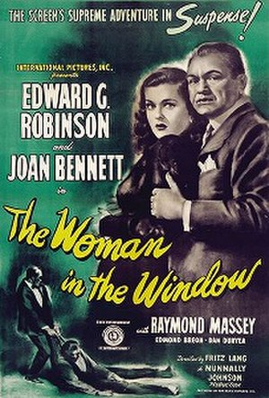 The Woman in the Window - Theatrical release poster