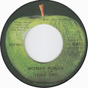 Woman Power (song) - Image: Yoko Ono Woman Power 1973