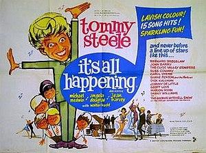 It's All Happening (film) - Original British quad poster