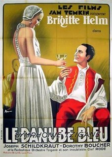 <i>The Blue Danube</i> (1932 film) 1932 film by Herbert Wilcox