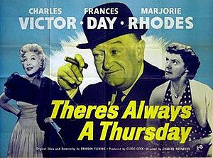 There's Always a Thursday - British quad poster