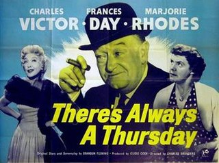 <i>Theres Always a Thursday</i> 1957 film by Charles Saunders