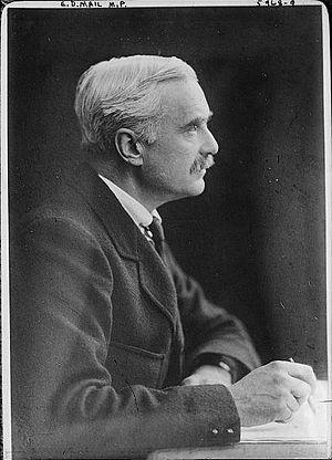 E. D. Morel - Image: 1922 Edmund Dene Morel