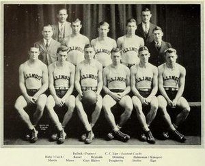 1925–26 Illinois Fighting Illini men's basketball team - Image: 1925 26 Fighting Illini men's basketball team