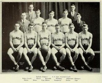 1925–26 Illinois Fighting Illini men's basketball team - Image: 1925 26 Fighting Illini men's basketball team