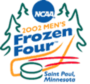 2002 NCAA Division I Men's Ice Hockey Tournament - 2002 Frozen Four logo