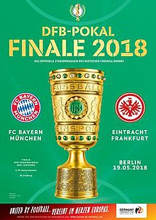 Spielbeginn Dfb Pokal Finale