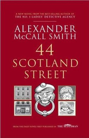 44 Scotland Street - First edition cover