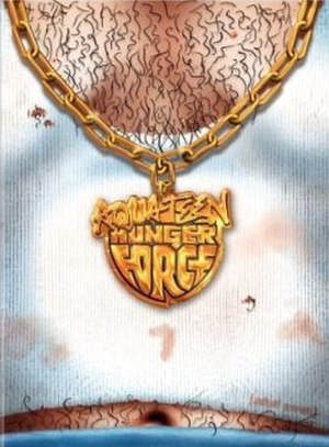 Aqua Teen Hunger Force (season 7) - Volume Seven DVD cover, which features episode 1–5 from season seven. Episodes 6–12 were released on the Aqua Unit Patrol Squad 1: Season 1 set.
