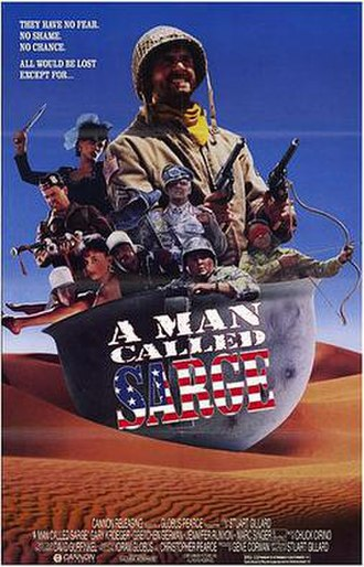 A Man Called Sarge - Promotional poster