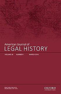 <i>American Journal of Legal History</i> Academic journal