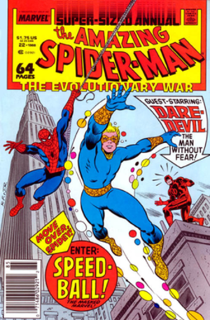 Robbie Baldwin - Image: Amazing Spider Man Annual 22