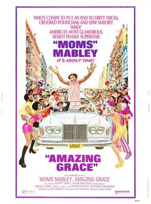 Amazing Grace (1974 film) - Theatrical poster to Amazing Grace (1974)
