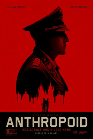 Anthropoid (film) - Theatrical release poster