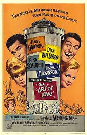 The Art of Love (1965 film) - Theatrical release poster