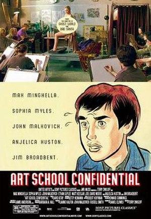 Art School Confidential (film) - Theatrical release poster