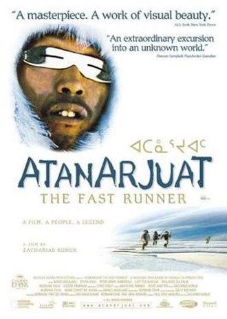 Atanarjuat: The Fast Runner - Image: Atanarjuatposter
