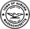 Official seal of Auburn, Massachusetts