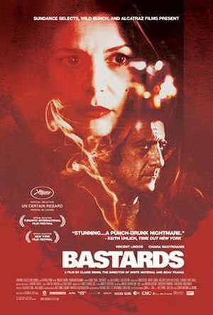 Bastards (2013 film) - Theatrical release poster