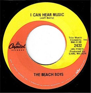 I Can Hear Music - Image: Beach Boys I Can Hear Music