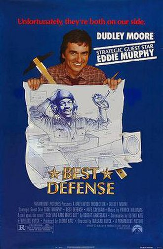 Best Defense - Theatrical release poster by Steven Chorney