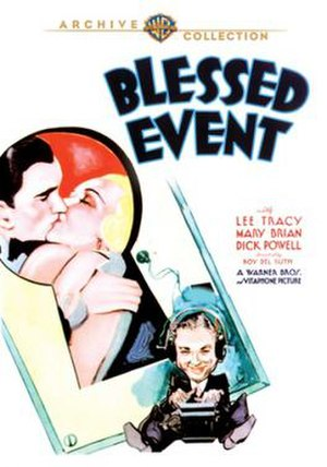 Blessed Event - Image: Blessed Event Film Poster