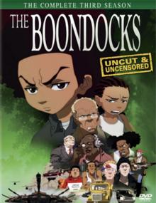 69dfb689c The Boondocks (season 3) - DVD cover