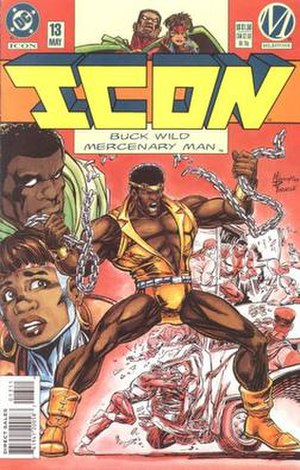 Icon (comics) - Buck Wild Mercenary Man, artist M.D. Bright