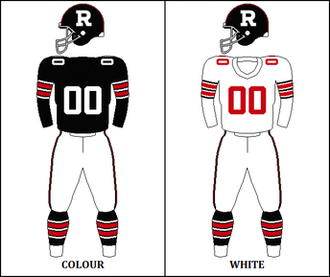 1972 Ottawa Rough Riders season - Image: CFL OTT Jersey 1971