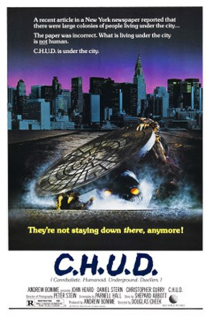 C.H.U.D. - Theatrical release poster