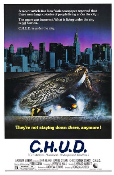 C.H.U.D. (1984) movie poster
