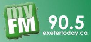 CKXM-FM - Image: CKXM My FM90.5 logo