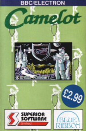Camelot (video game) - BBC/Electron cassette cover
