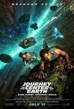 Journey to the Center of the Earth (2008 theatrical film) - Theatrical release poster