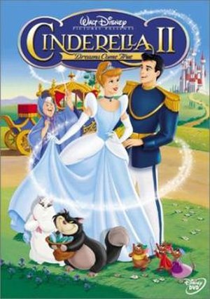 Cinderella II: Dreams Come True - DVD cover art