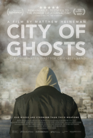 City of Ghosts (2017 film) - Theatrical release poster