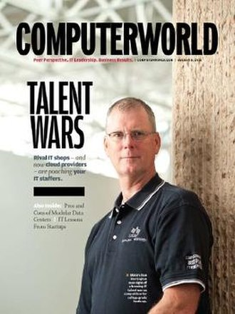 Computerworld - Computerworld cover for Volume 45, Issue 14, Aug. 8, 2011